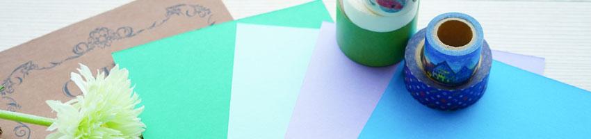 フルカラー印刷+抗菌加工マスキングテープ